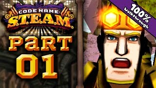 Codename STEAM 3DS - Part 1: Prologue 1, 2, 3 100% Walkthrough!