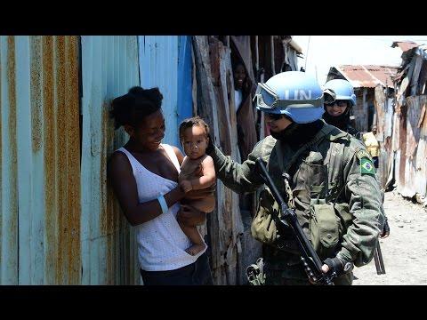 A presença das Forças Armadas brasileiras no Haiti