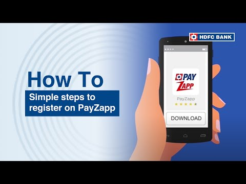 Get started with HDFC Bank PayZapp