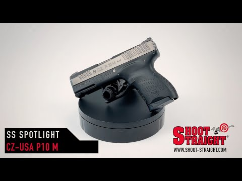 CZ P-10 M 9mm Pistol - Shoot Straight Spotlight
