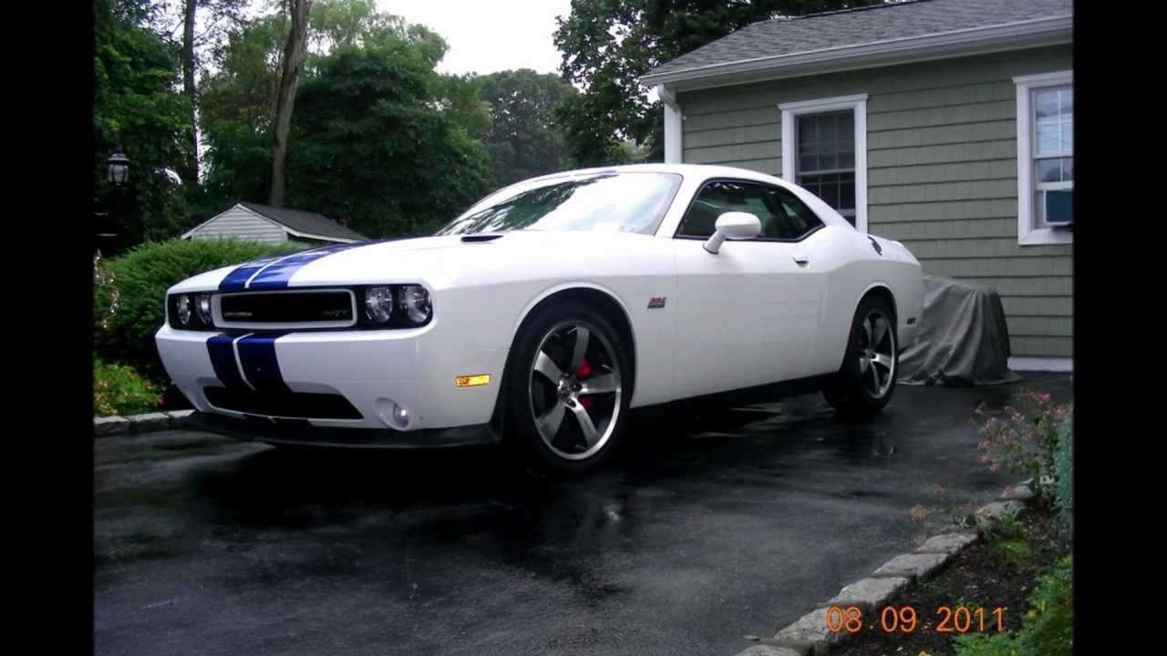 2011 dodge challenger srt 8 392 inaugural edition 391 1100 for sale youtube. Black Bedroom Furniture Sets. Home Design Ideas
