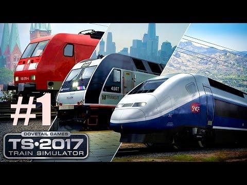 Train Simulator 2017: Auf nach New York mit der Diesel-/Elektrolok ALP-45 DP #1 – TS2017 deutsch