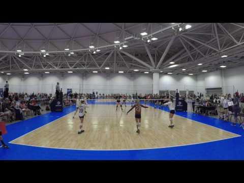 Ozark 12-1 vs Premier Nebraska 11 Gold, USAV Nationals