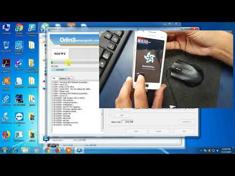 Samsung Z1 ( z130h/ds ) hang on logo solution/ how to flash Samsung Z1