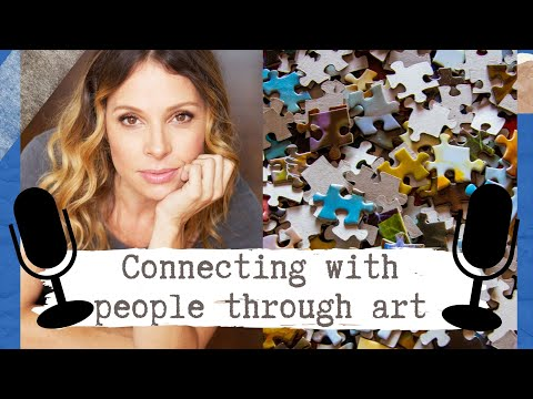 Connecting with other people through art (Marisabel Bazan) | Matt's Art Chat Clips