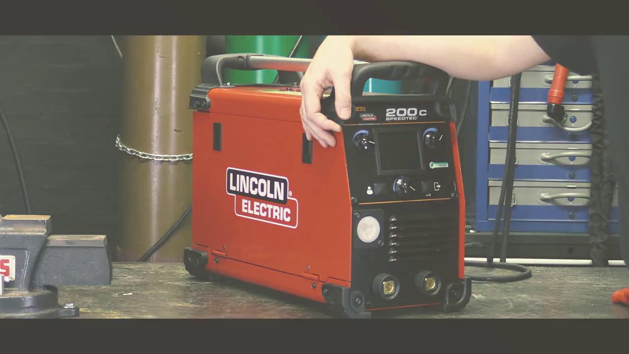 lincoln 1mp speedtec 200c welding machine