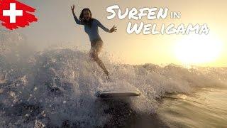 SURFEN IN WELIGAMA 🌊🏄 SRI LANKA VLOG