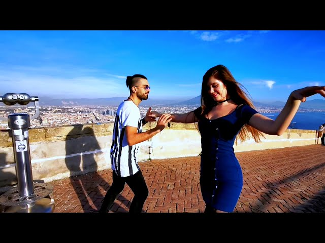 Salsa on top of Castell Sant-Elmo, Naples, Italy - Social Dancing (Full)