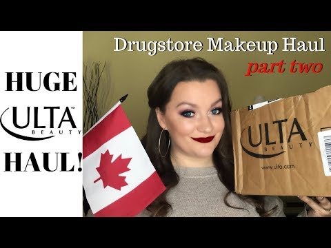 A CANADIAN GIRL'S ULTA HAUL | PART TWO - DRUGSTORE MAKEUP SERIES