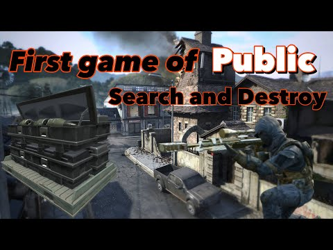 Joining a Puplic Search and Destroy lobby (I didn't enjoy it)