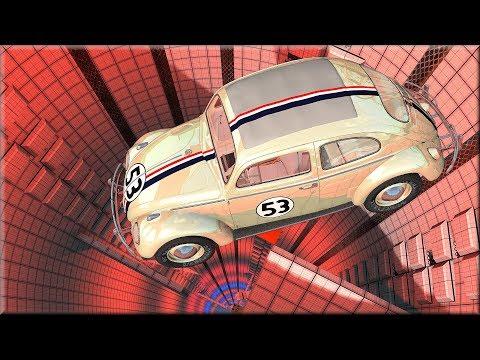 BeamNG Drive Volkswagen Beetle  Herbie The Love Bug Smash Testing