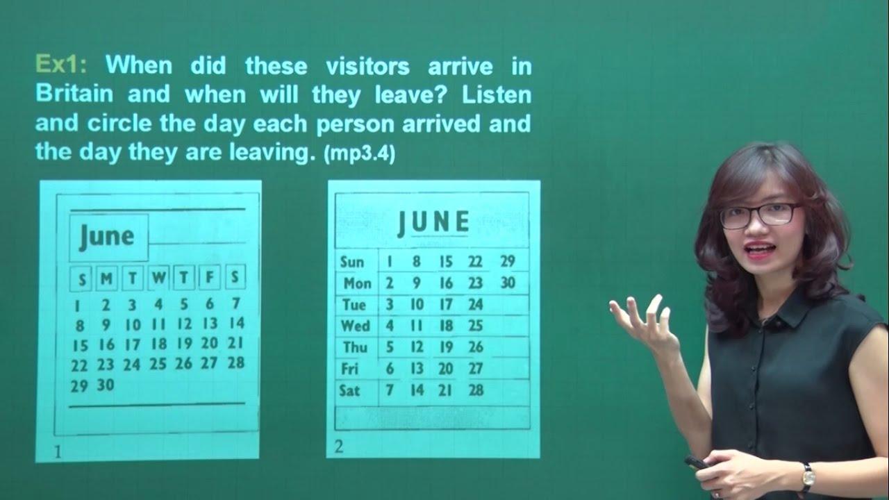 Luyện Nghe Tiếng Anh Siêu Tốc [Bài 3 – Dates]    Cách Học Tiếng Anh Giao Tiếp Hiệu Quả