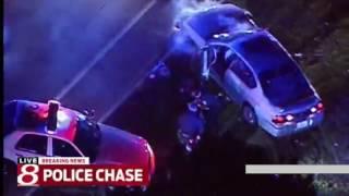 Погони в США ! New Police chases in USA #9