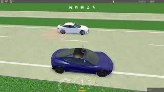 The new Tesla Roadster 2.0 in GREENVILLE! Roblox