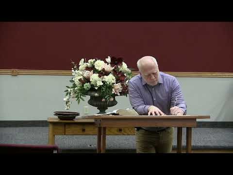 Sanctification · Bible Study · 200212 · Pastor Pittman