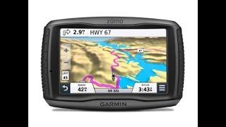 видео GPS-навигаторы Garmin Zumo