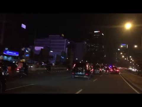 Street Of Jakarta In The Night