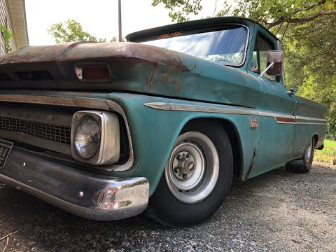 66 Chevy C10- Walkaround and a drive