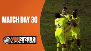 National League Highlights: Match Day 30 | BT Sport