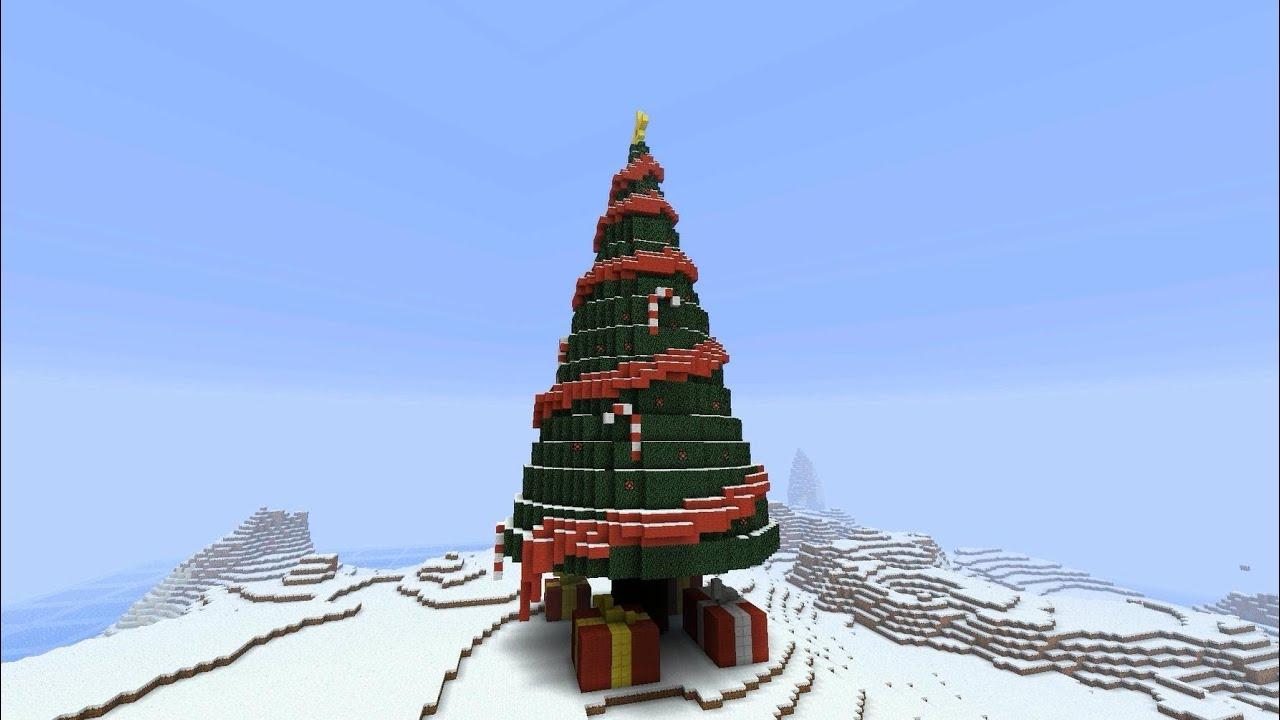 Minecraft Christmas Trees