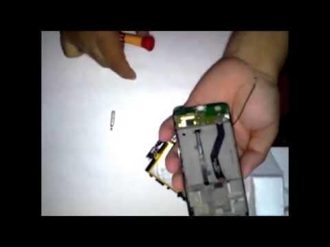 Abrir Alcatel one touch Idol Mini - Parte 2 (Desmontando Tarjeta)