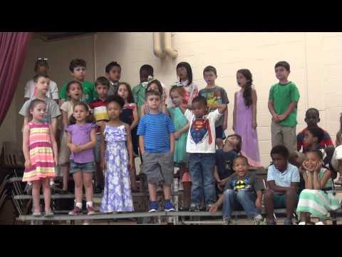 Dawe School Kindergarten celebration June 2015 pt1