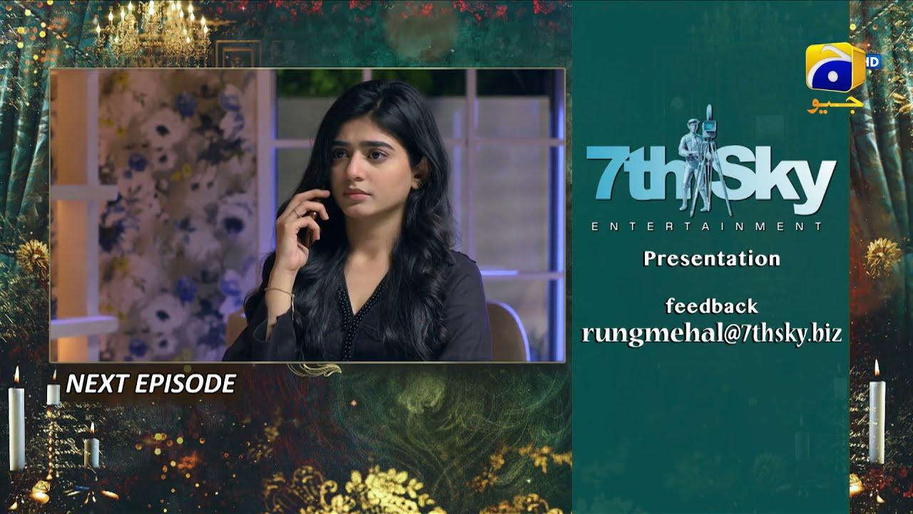 Download Rang Mahal - Ep 68 Teaser - 17th September 2021 - HAR PAL GEO
