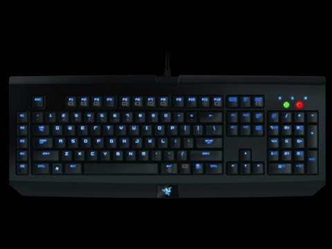 Razer Blackwidow Ultimate Keyboard Review (Stealth Edition) - YouTube