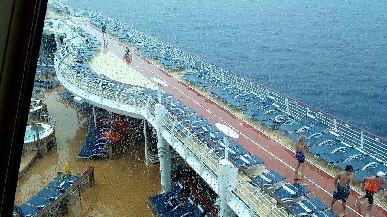 Bored Teens On Rain Soaked Cruise Ship YouTube - Cruise ship locater