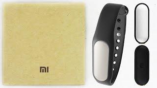 видео Фитнес браслет Xiaomi Mi Band с Алиэкспресс (Китая)