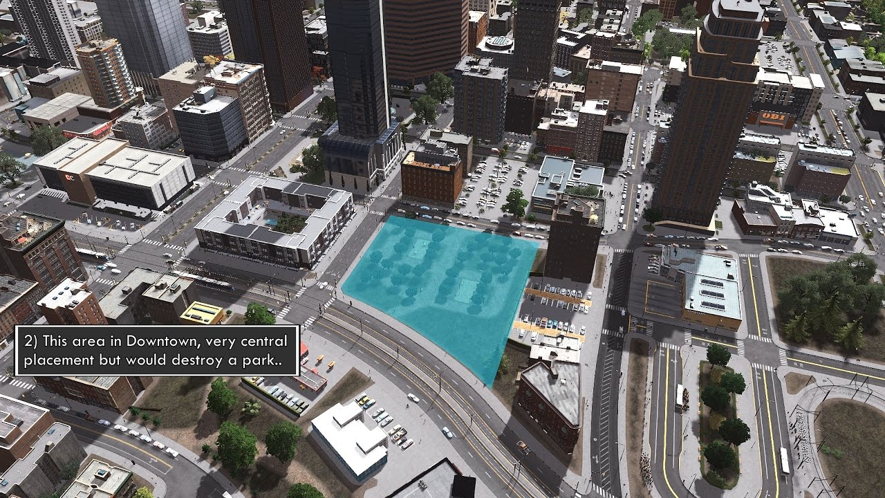 Cities skylines building a realistic us city for Us city skylines photos