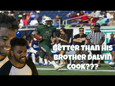 Florida's Best High School Running Back!!! James Cook Highlight Reaction