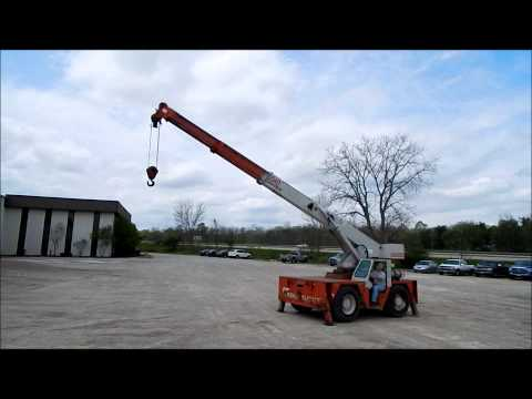 Shuttle Lift 5540 Carry deck crane
