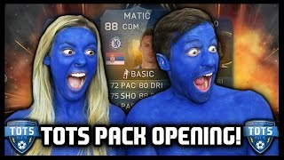 BE BLUE! SPECIAL TOTS PACK OPENING! - Fifa 15 Ultimate Team