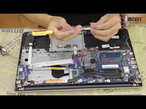 Laptop Dell Inspiron 5548 Hưỡng dẫn vệ sinh   Đức Việt