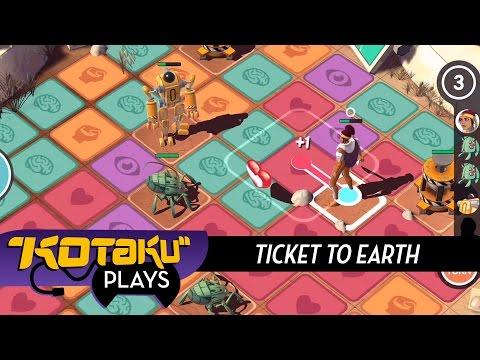 Kotaku Plays Ticket To Earth