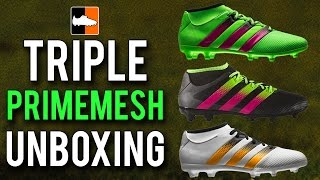 Adidas ace 16.3 primemesh unboxing | kids/club level football boots
