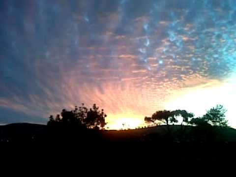 Sunset view from Cloetesville Stellenbosch