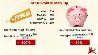 What Is Gross Profit Vs Mark Up; Break Even Analysis; EBIT; EBITDA