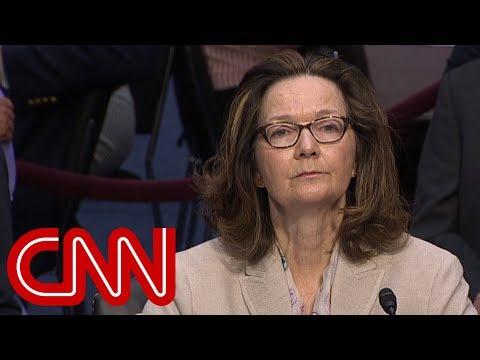 Haspel: I will not restart CIA interrogation program