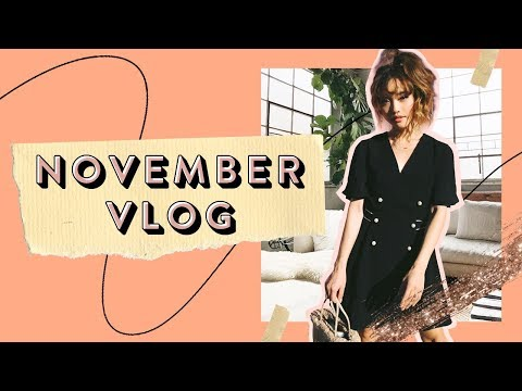 Being Alone and Opening Up | November Vlog Pt. 2