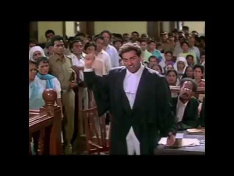 Sunny deol's Punjabi Damini dialogue