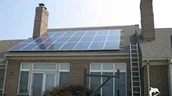 Solar Power Panel Install In Maryland, Green Energy