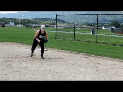 Alexis Hess Softball Skills Video