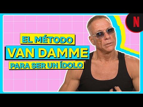 Jean-Claude Van Damme comparte sus secretos para ser un ídolo de acción