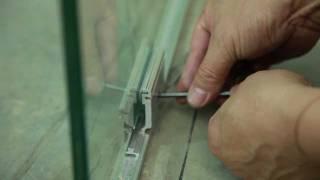видео Остекление офисной перегородки