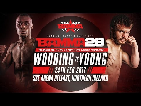 BAMMA 28: Andy Young vs Dominique Wooding