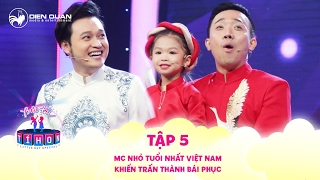 Little But Special | Ep 5: The youngest MC in Vietnam surprised Tran Thanh