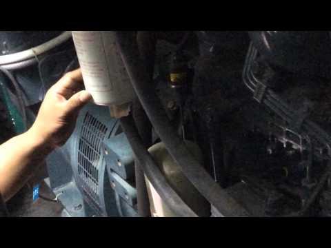 Vận hành máy phát điện khi mất điện lưới - Vận hành Hệ thống kỹ thuật