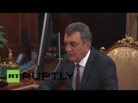 Russia: Putin appoints Sevastopol governor as envoy to Siberian Federal District